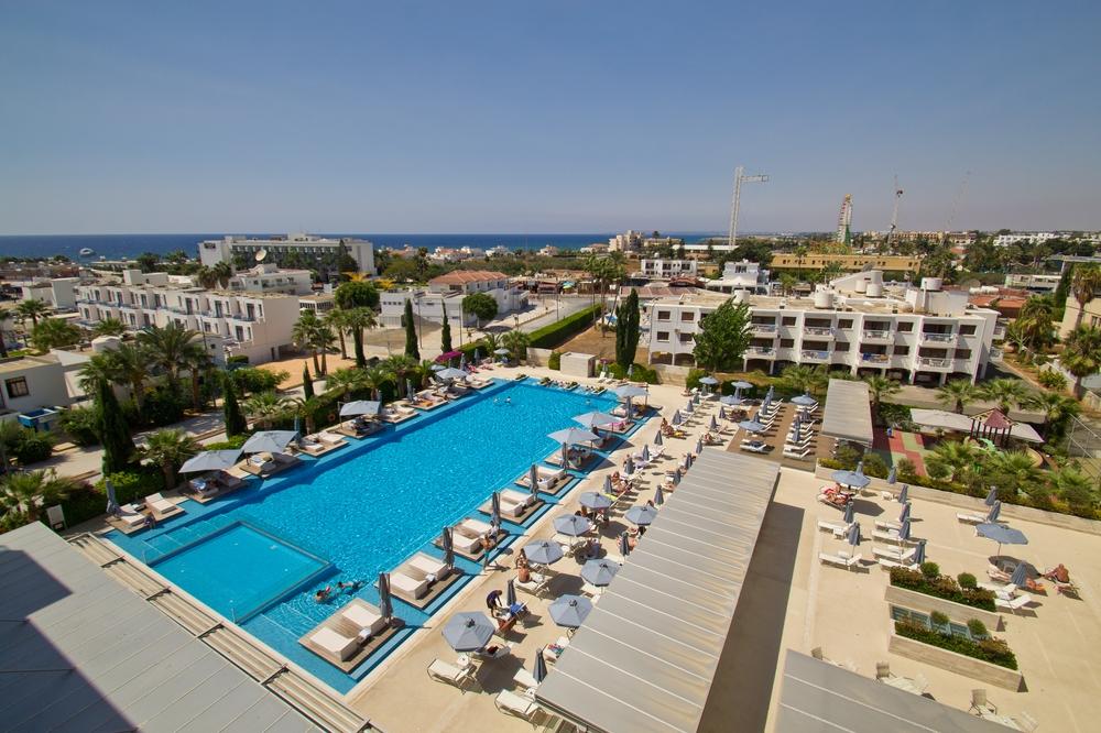 Nestor Hotel Agia Napa Übersicht von oben