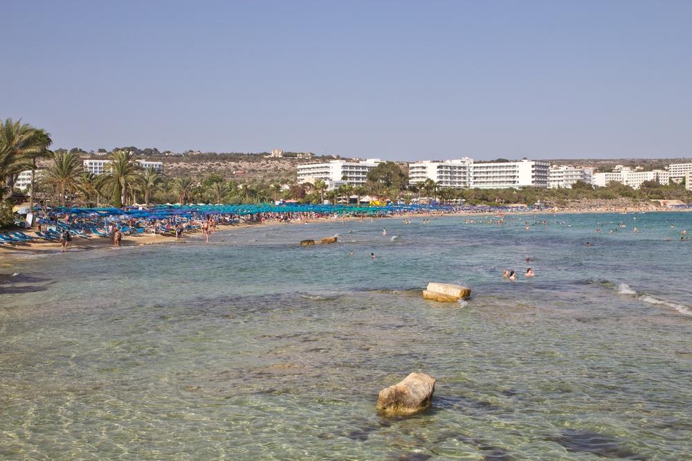 Strand von Agia Napa