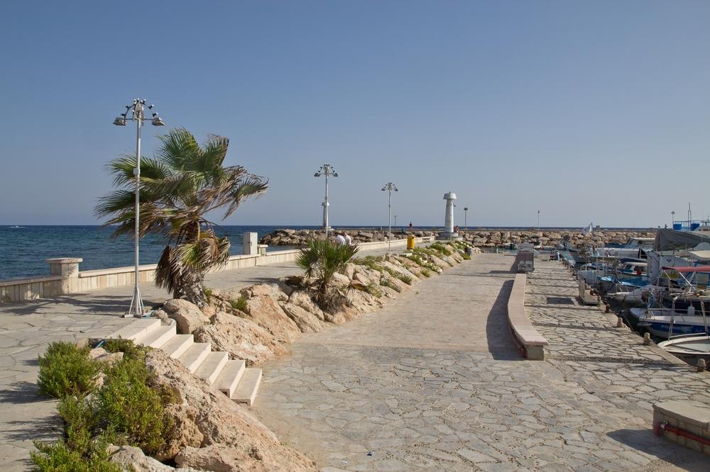 Strand Promenade in Agia Napa Zypern